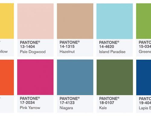 Colores de moda para la temporada primavera-verano 2017